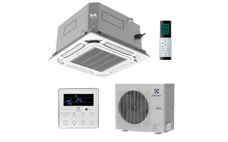 Кассетный кондиционер (сплит-система) Electrolux Unitary Pro 3 DC Inverter EACC-48H/UP3-DC/N8